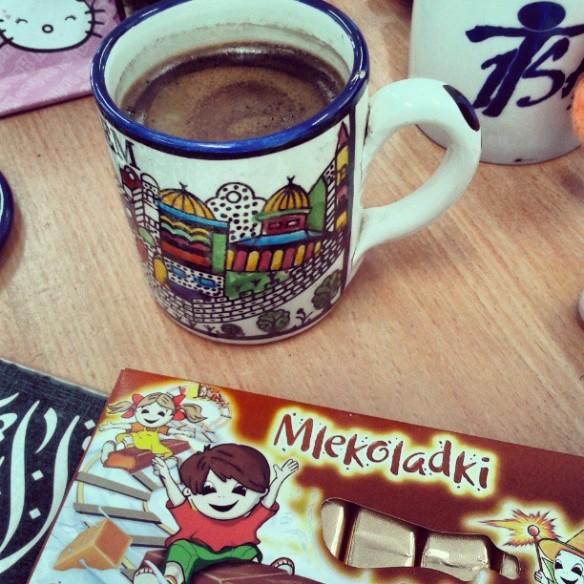 قهوتي الصباحيه :)